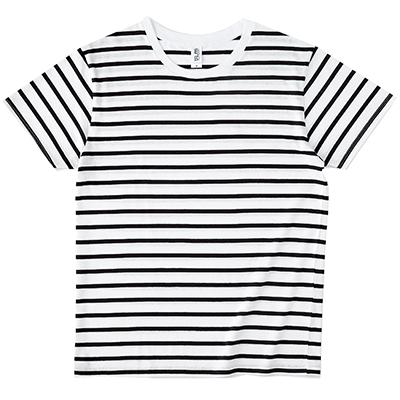 TRUSS 4.3oz ナローボーダーシャツ