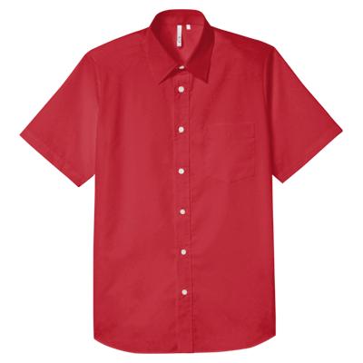半袖ブロードシャツ