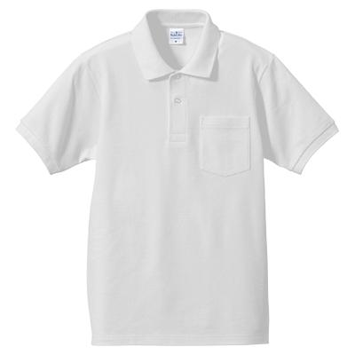 United Athle 6.2oz ドライCVCハイブリッドポロシャツ(ポケット付)