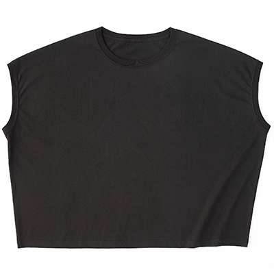 TRUSS 4.3oz スリーブレスワイドTシャツ(レディース)