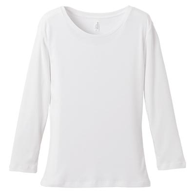 rucca 6.2oz CVC フライス 3/4スリーブTシャツ