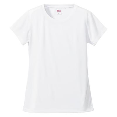 rucca 4.7oz ドライシルキータッチ XラインTシャツ(レディース)