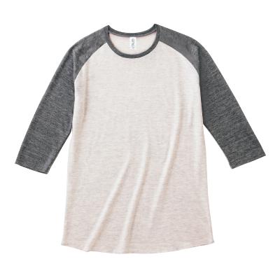 TRUSS 4.4oz トライブレンドラグラン 七分袖Tシャツ