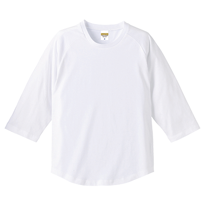 United Athle 5.0oz 七分袖Tシャツ