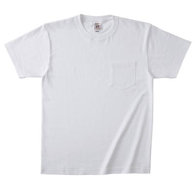 Cross Stitch オープンエンドマックスウェイト ポケットTシャツ