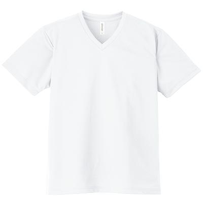 GLIMMER 4.4oz ドライVネックTシャツ