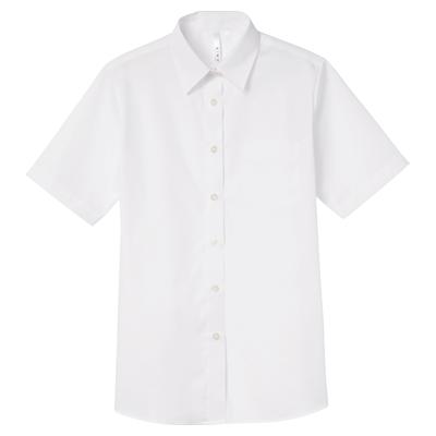 半袖ブロードシャツ(レディース)