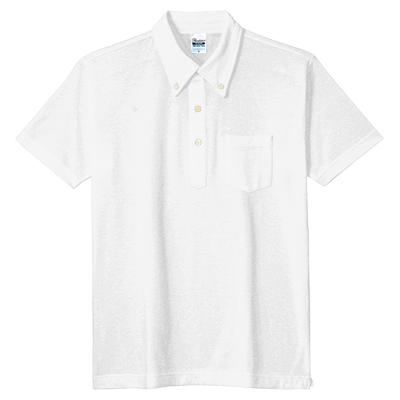 Printstar 5.3oz スタンダードボタンダウンポロシャツ(ポケット付)