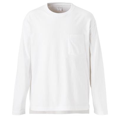 Unites Athle 5.6oz ルーズフィット 長袖Tシャツ(ポケット付)