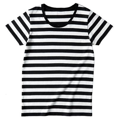 TRUSS 4.3oz ボーダーTシャツ(レディース)