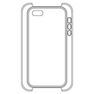 iPhone SE/5s/5 ハードカバーケース(マット)