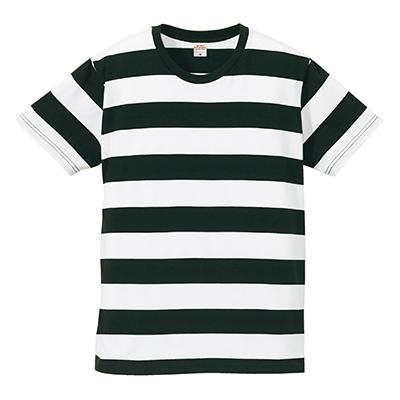 United Athle 5.0oz ボールドボーダー ショートスリーブTシャツ