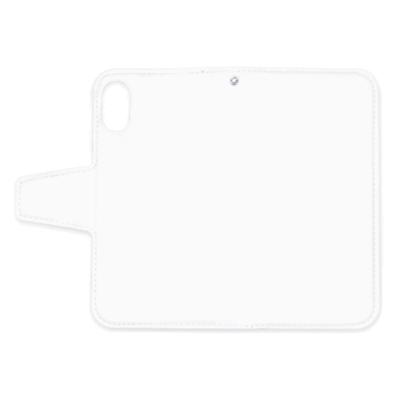 特急プリント iPhone X 手帳型ケース