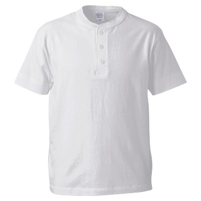 United Athle 5.6oz ヘンリーネックTシャツ
