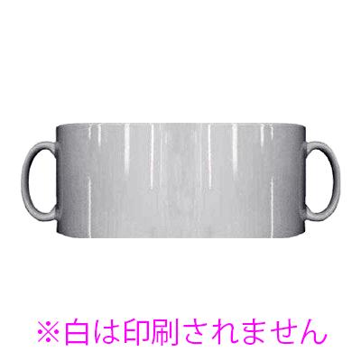 銀色マグカップ