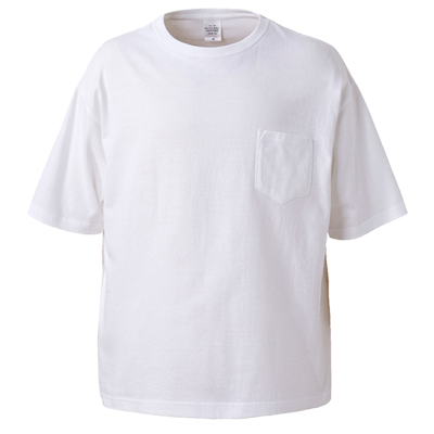 UnitedAthle 5.6oz ビックシルエットTシャツ(ポケット付)