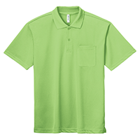 GLIMMER 4.4oz ドライポロシャツ(ポケット付)