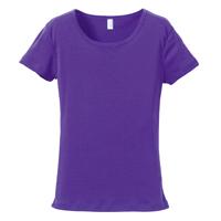 rucca 6.2oz CVCフライス Tシャツ(レディース)