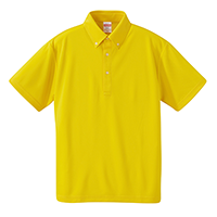 United Athle 4.1oz ドライアスレチック ボタンダウンポロシャツ