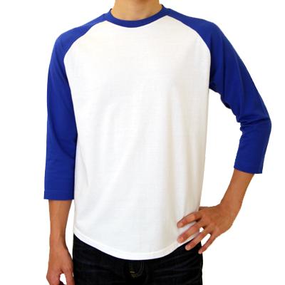 Printstar 5.6oz ラグランベースボール 七分袖Tシャツ