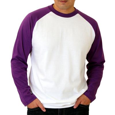 Printstar ラグラン長袖Tシャツ
