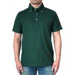 United Athle 5.3oz ドライCVCボタンダウンポロシャツ(ポケット付)