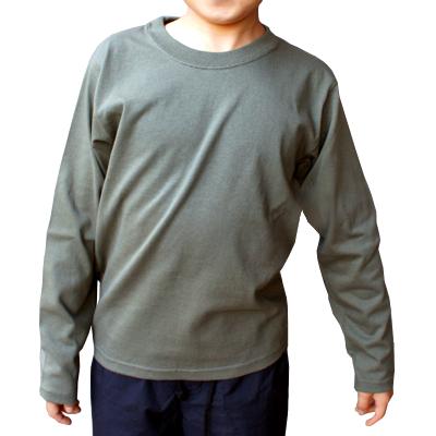 Cross Stitch 6.2oz オープンエンド 長袖Tシャツ(キッズ)