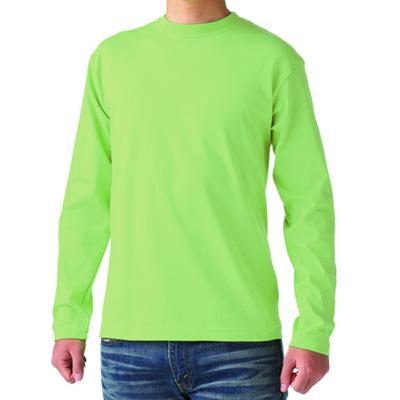 Cross Stitch 6.2oz オープンエンド 長袖Tシャツ
