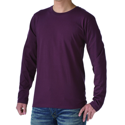 TRUSS スリムフィット ロングスリーブTシャツ