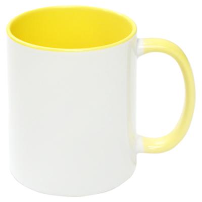 2トーンマグカップ(イエロー)