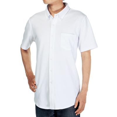 Cross Stitch ビズスタイル ニットシャツ