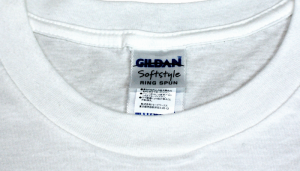 GILDAN ASフィットTシャツ 首周り
