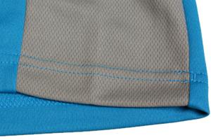 両脇の切替し、サイドパネルのおかげでファッション性だけでなくフィット感もUP!