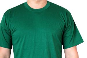 日本製Tシャツのモデル着用写真