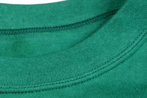 日本製Tシャツの首リブ周辺