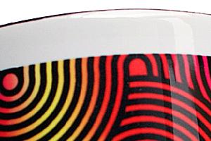 2トーンマグカップ(ブラック)印刷例