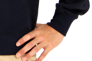 240-CFTの袖・裾リブ