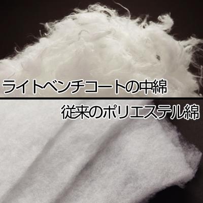 中綿の比較画像