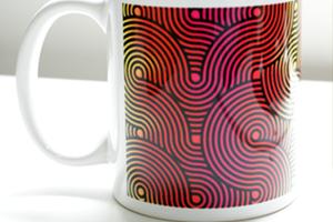 2トーンマグカップの印刷例
