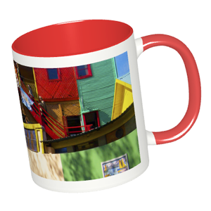 旅先の風景写真をカラフルなマグカップに!