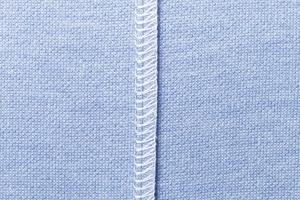 縫い込まれた防臭糸