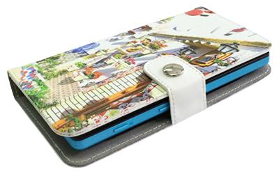 AndroidにもiPhoneにも対応!こちらはXperia ZL2 SOL25に装着した例。