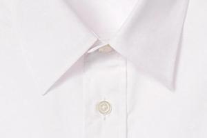 パリッとした印象の半袖シャツ