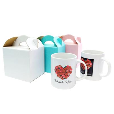 包装オプション:取っ手付きカラーボックス