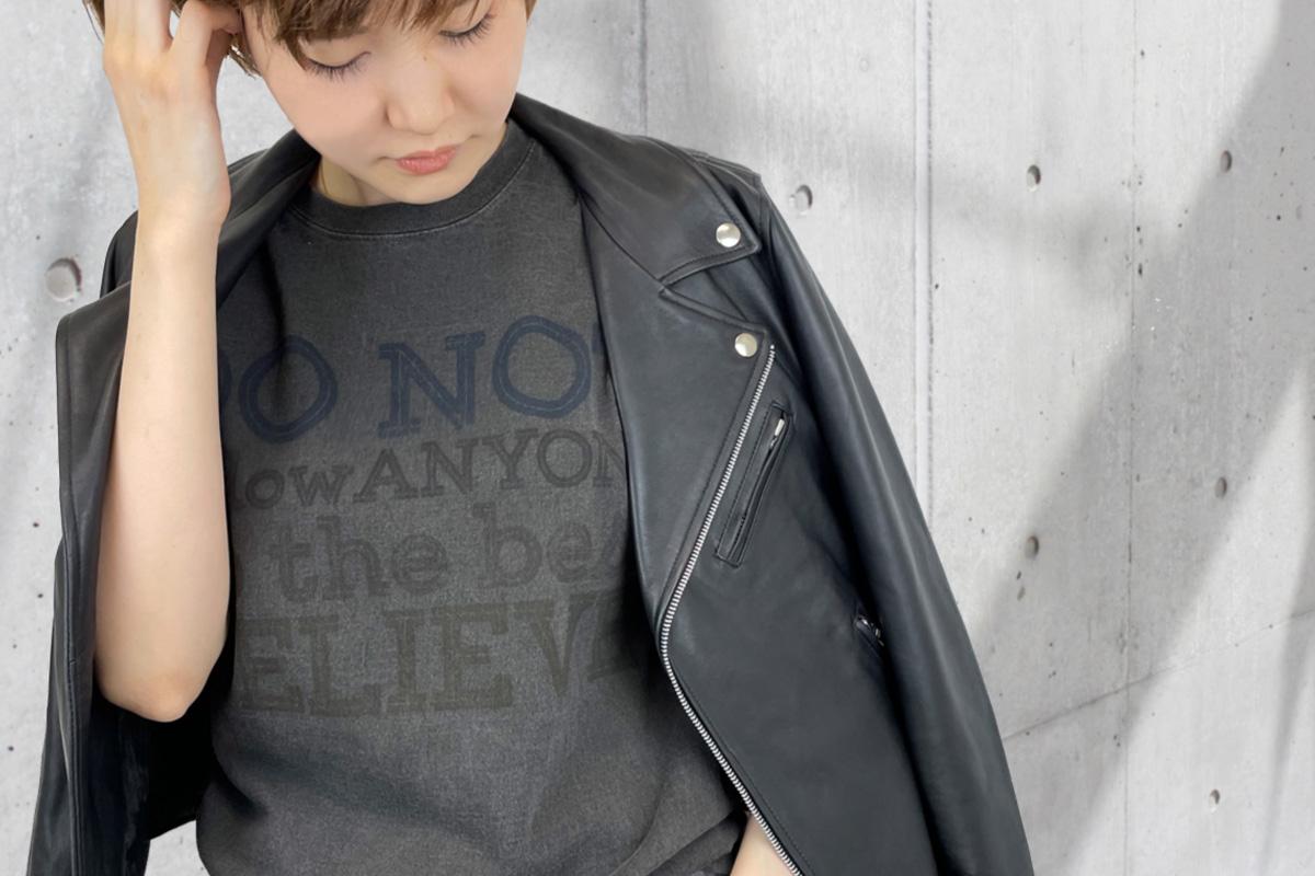 GOOD ON Tシャツ ピグメントプラック