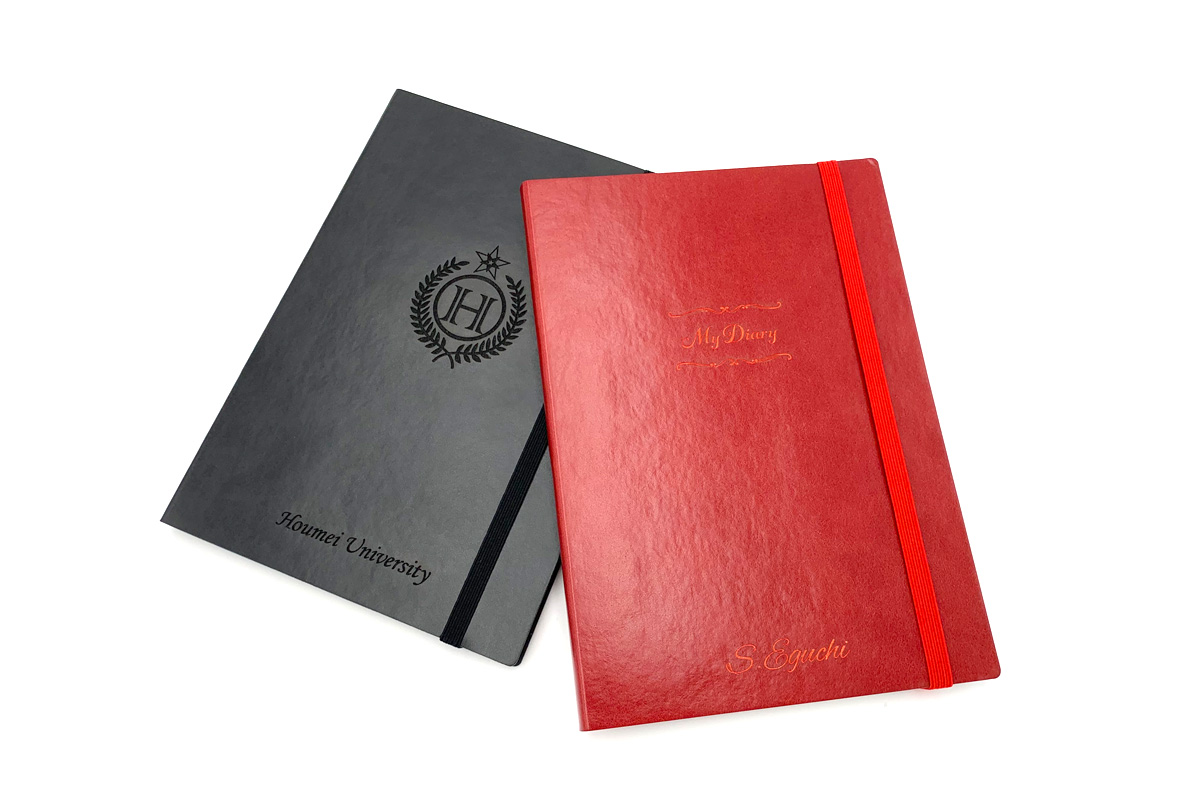 さりげない品の良さが魅力のEDiTのノートブックをオリジナルに!