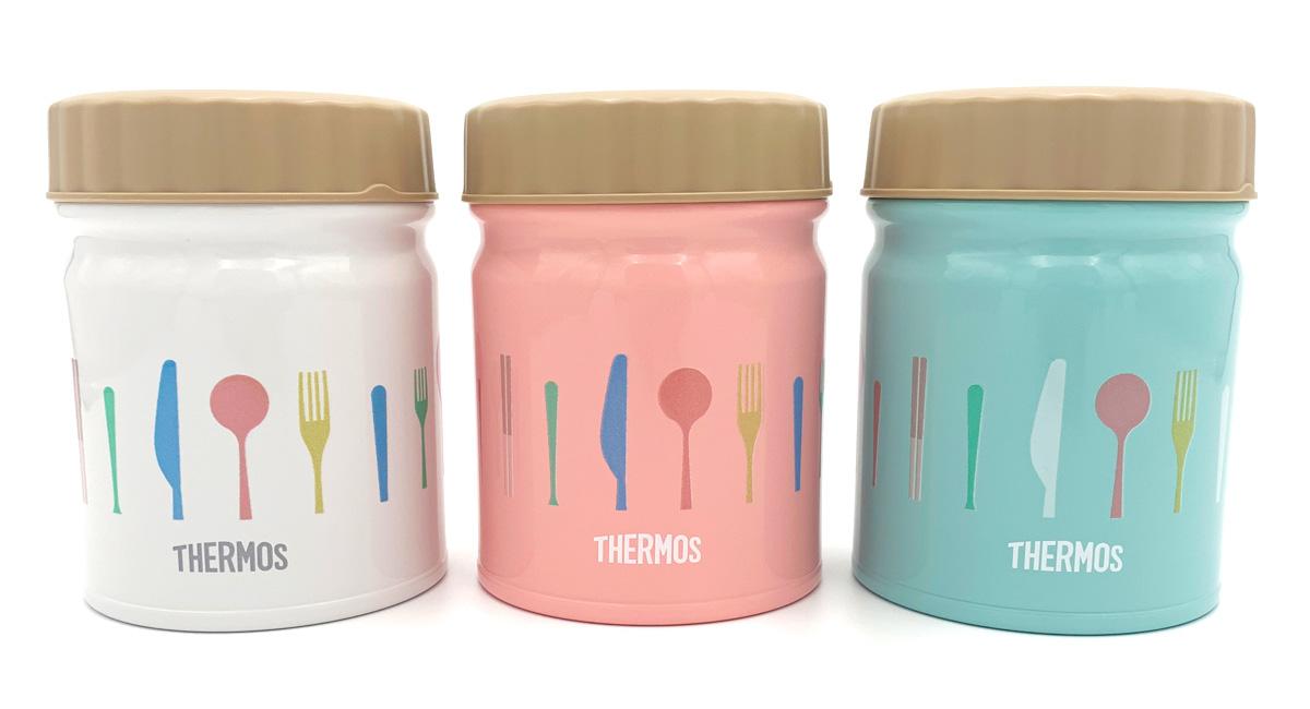 THERMOS真空断熱スープジャーにオリジナルデザインをプリント! ランチタイムもわくわく