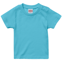 ブルー United Athle 5.6oz Tシャツ(baby)
