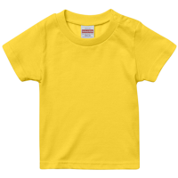イエロー United Athle 5.6oz Tシャツ(baby)
