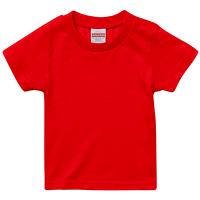 レッド United Athle 5.6oz Tシャツ(baby)